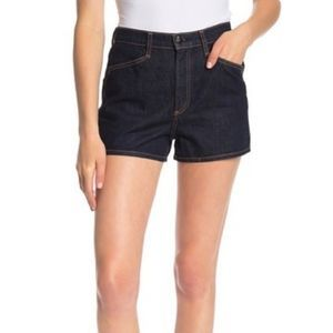 Rag & Bone dark blue Ellie Denim Shorts 8949